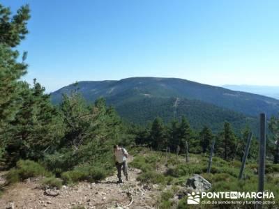 Ascensión Pico del Nevero - rutas senderismo madrid fáciles; club de montaña madrid